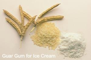 Guar Gum for Ice Cream